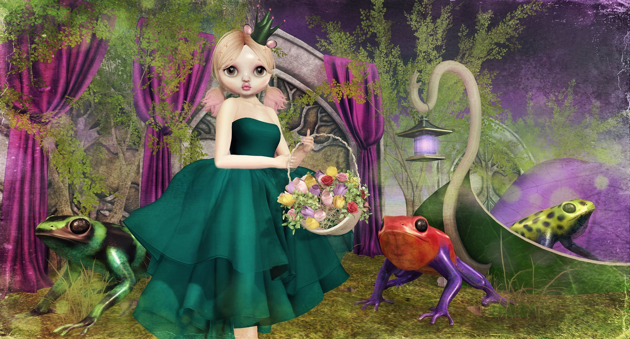 Kissy Frog Princess Threads And Tuneage